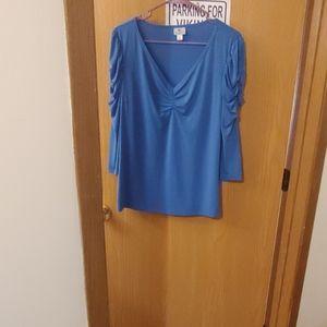2/$15 Nwot Worthington puff sleeve dress blouse